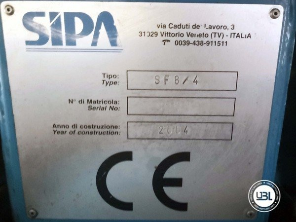 Sopradoras (PET) Sipa SF 8/4 - 1