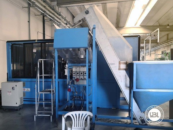 Used Blow Molding Machine Sipa SF 8/4 - 8