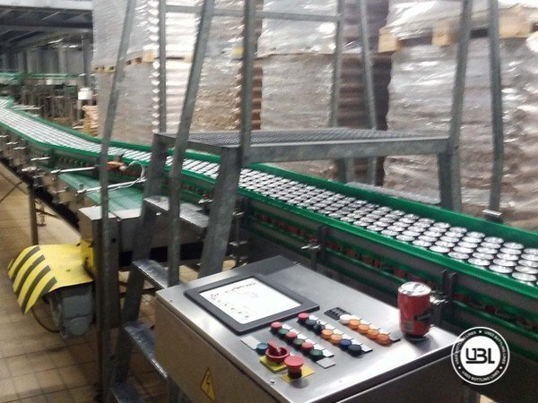 Used Isobaric Complete Can Line for Beer, Soft Drinks 60000 cph - 1
