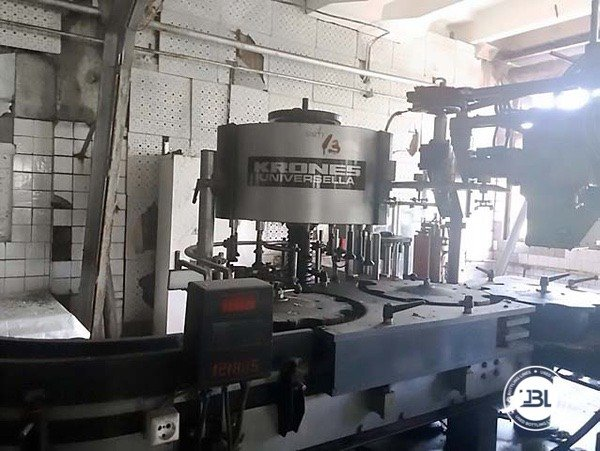 Used Complete Glass Line for Still Wine 12000 bph - 1