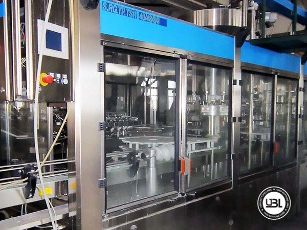 Used Complete Glass Line for Still Wine 12000 bph - 10
