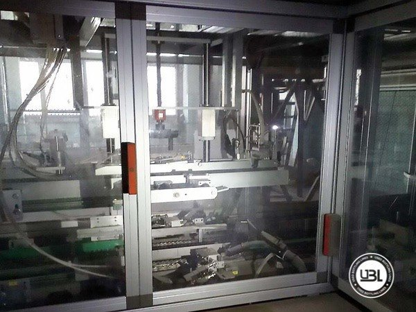 Used Complete Glass Line for Still Wine 12000 bph - 13