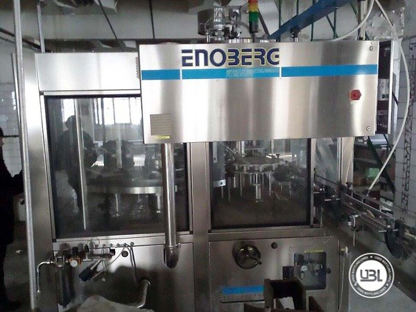 Used Complete Glass Line for Still Wine 12000 bph - 19
