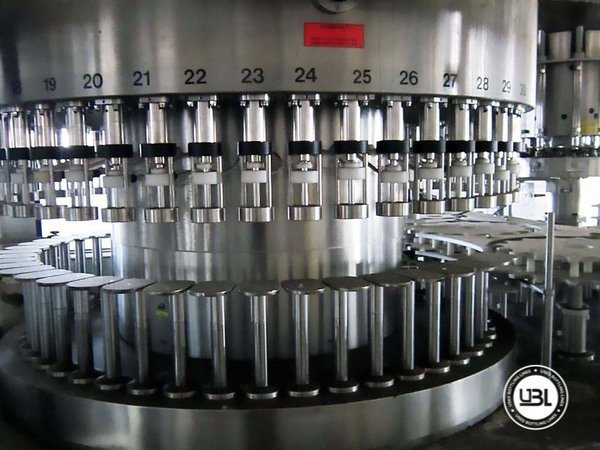 Used Complete Glass Line for Still Wine 12000 bph - 8
