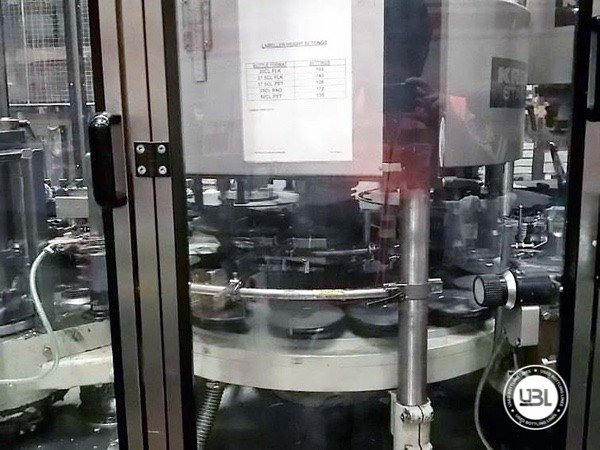 Used Complete Glass, PET Line for Spirits 10000 bph - 1