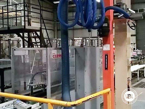 Used Complete Glass, PET Line for Spirits 10000 bph - 10