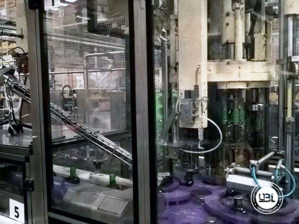 Used Complete Glass, PET Line for Spirits 10000 bph - 14
