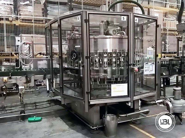 Used Complete Glass, PET Line for Spirits 10000 bph - 5