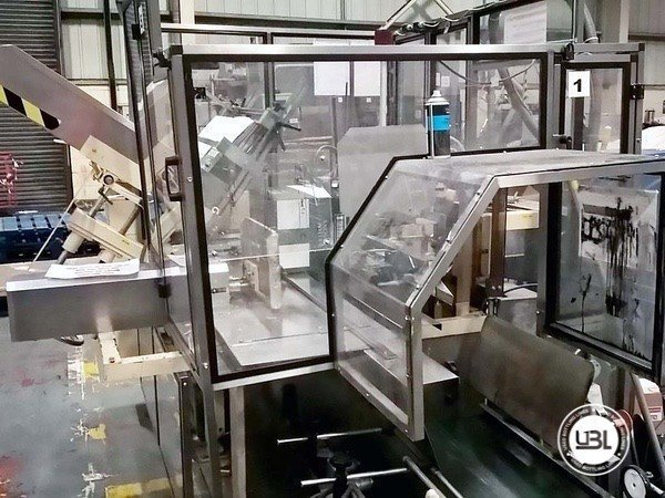 Used Complete Glass, PET Line for Spirits 10000 bph - 9