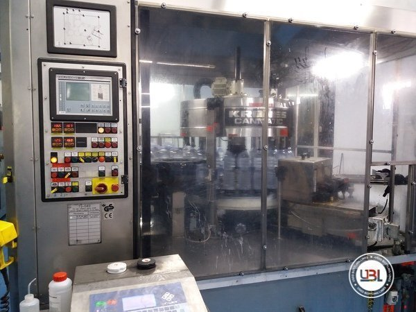 Used Complete PET Line for Water 15000 bph - 5