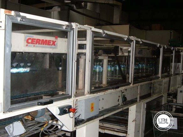 Used Complete PET Line for Water 16500 bph - 5