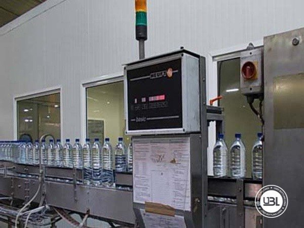 Used Complete PET Line for Water 16500 bph - 7