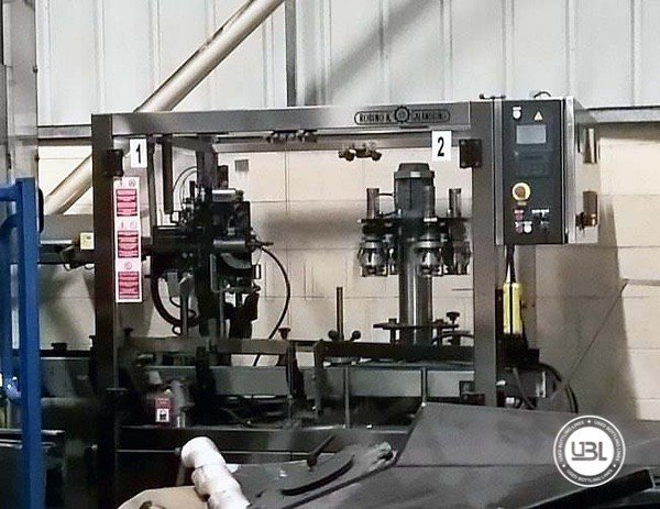 Used Complete Glass, PET Line for Spirits 15000 bph - 10