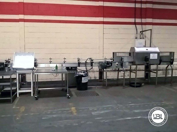 Used Complete Glass, PET Line for Spirits 15000 bph - 13