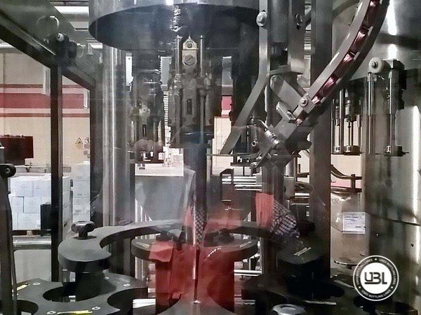 Used Complete Glass, PET Line for Spirits 15000 bph - 14