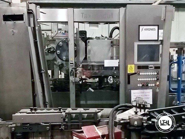 Used Complete Glass, PET Line for Spirits 15000 bph - 16