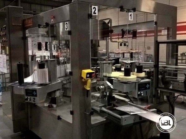 Used Complete Glass, PET Line for Spirits 15000 bph - 5
