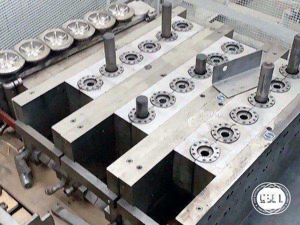 Used Blow Molding Machine SIAPI SOFF. EA. 30.110.6 - 12