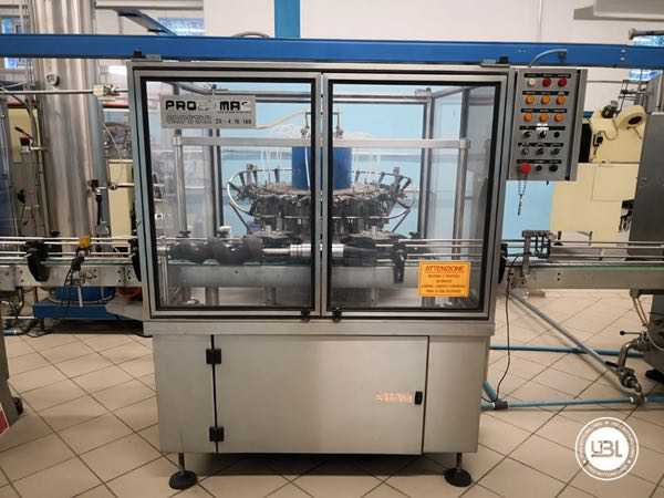 Used Isobaric Complete Glass Line for Sparkling Wine, Still Wine 2500 bph - 15