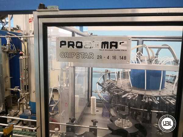 Used Isobaric Complete Glass Line for Sparkling Wine, Still Wine 2500 bph - 20