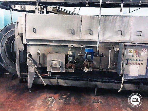 Used Isobaric Complete Glass Line for Sparkling Wine, Still Wine 5000 bph - 10