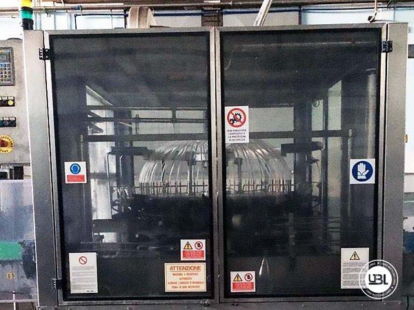 Used Isobaric Complete Glass Line for Sparkling Wine, Still Wine 5000 bph - 5