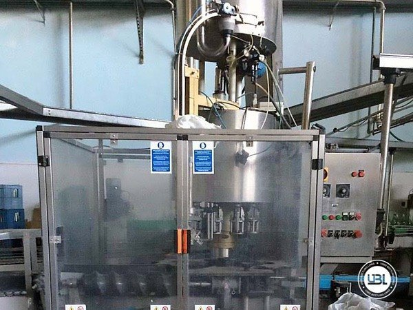 Used Isobaric Complete Glass Line for Sparkling Wine, Still Wine 5000 bph - 7