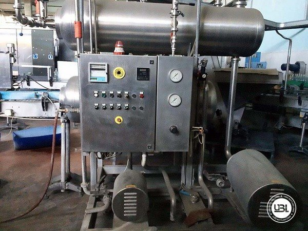 Used Isobaric Complete Glass Line for Sparkling Wine, Still Wine 5000 bph - 8
