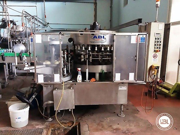 Used Isobaric Complete Glass Line for Sparkling Wine, Still Wine 5000 bph - 9