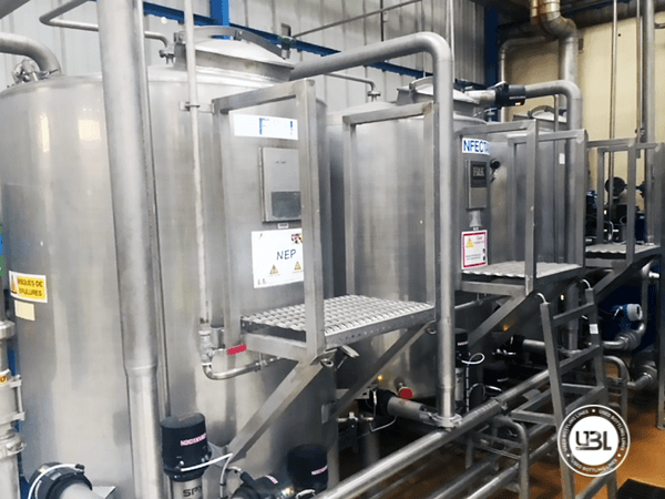 Used Complete Can Line for Juice 38000 bph - 5