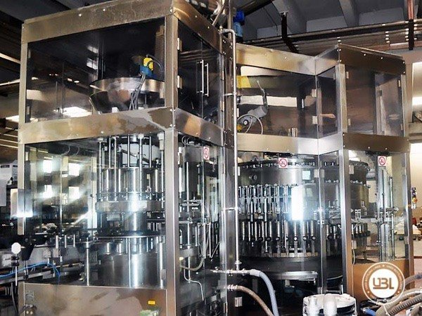 Used Filling Machine MBF 50.70.12.10 17000 bph year 2004 - 2