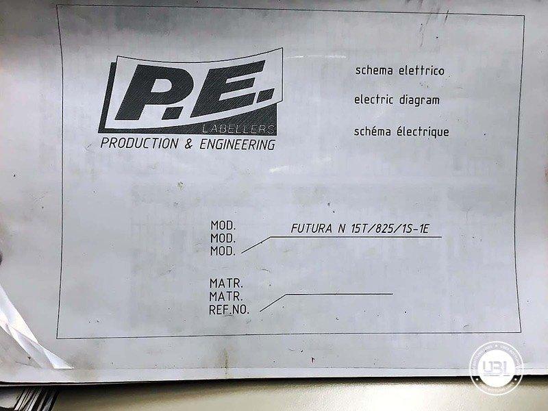Used Bottle Labeler P.E. Labellers 15T/825/1S-1E 18000 bph year 2000 - 6