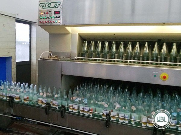 Used Isobaric Complete Glass Line for Sparkling Water, Water 10000 bph - 1