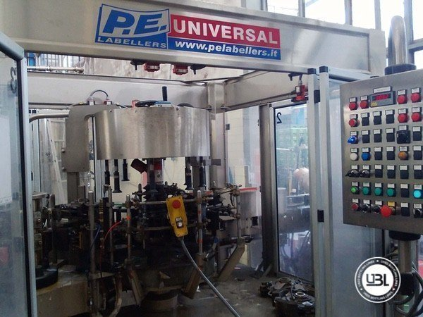 Used Isobaric Complete Glass Line for Sparkling Water, Water 10000 bph - 12