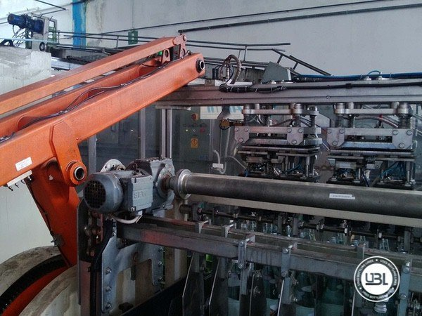 Used Isobaric Complete Glass Line for Sparkling Water, Water 10000 bph - 13
