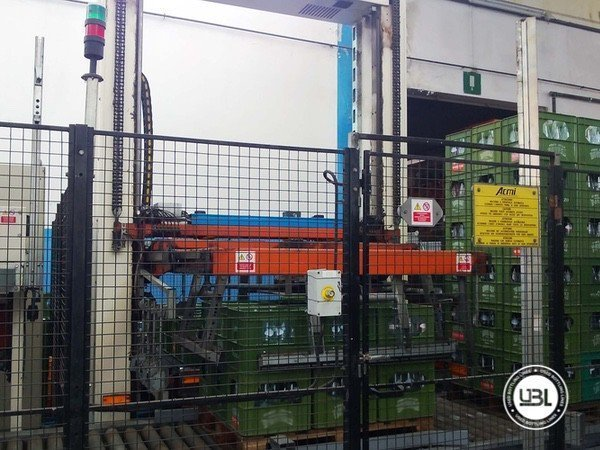 Used Isobaric Complete Glass Line for Sparkling Water, Water 10000 bph - 16
