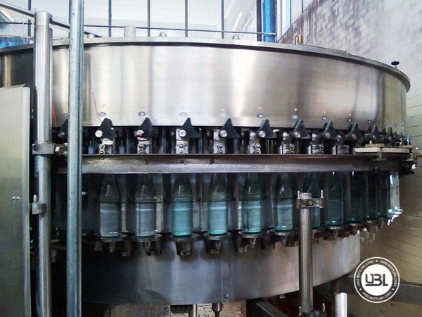 Used Isobaric Complete Glass Line for Sparkling Water, Water 10000 bph - 18