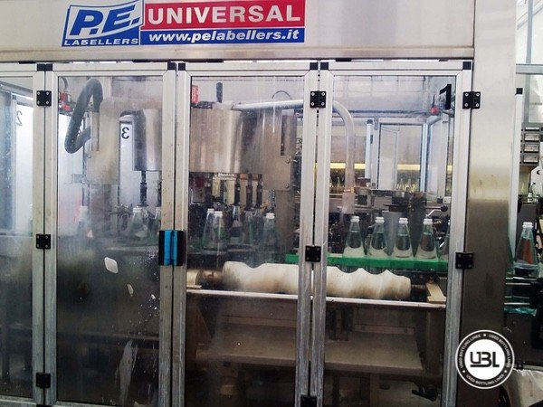 Used Isobaric Complete Glass Line for Sparkling Water, Water 10000 bph - 19