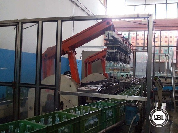 Used Isobaric Complete Glass Line for Sparkling Water, Water 10000 bph - 2