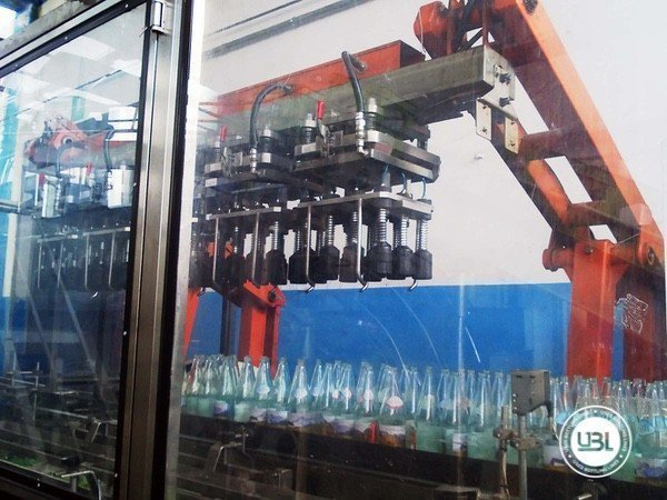 Used Isobaric Complete Glass Line for Sparkling Water, Water 10000 bph - 4