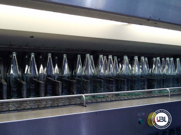 Used Isobaric Complete Glass Line for Sparkling Water, Water 10000 bph - 5