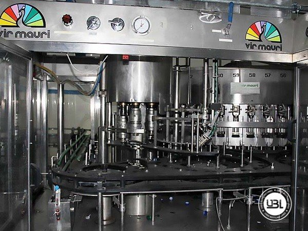 Used Isobaric Complete Glass Line for Sparkling Water, Water 7000 bph - 10