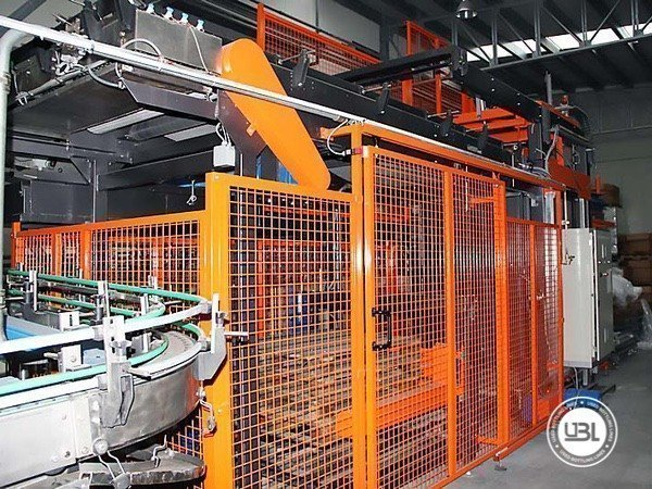 Used Isobaric Complete Glass Line for Sparkling Water, Water 7000 bph - 13