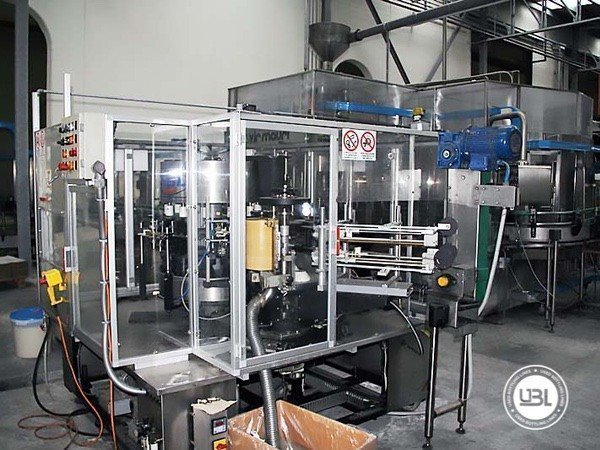 Used Isobaric Complete Glass Line for Sparkling Water, Water 7000 bph - 14