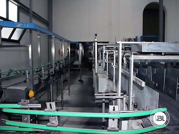 Used Isobaric Complete Glass Line for Sparkling Water, Water 7000 bph - 16