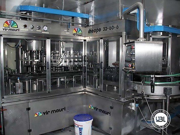 Used Isobaric Complete Glass Line for Sparkling Water, Water 7000 bph - 17