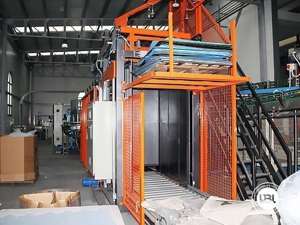 Used Isobaric Complete Glass Line for Sparkling Water, Water 7000 bph - 2