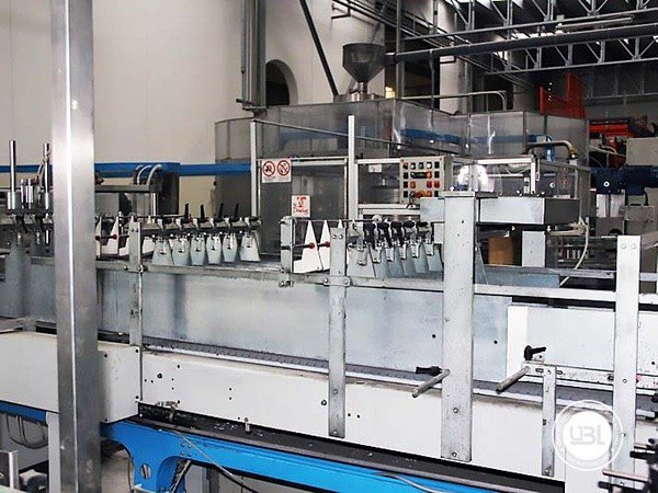 Used Isobaric Complete Glass Line for Sparkling Water, Water 7000 bph - 3