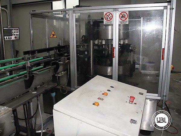 Used Isobaric Complete Glass Line for Sparkling Water, Water 7000 bph - 4