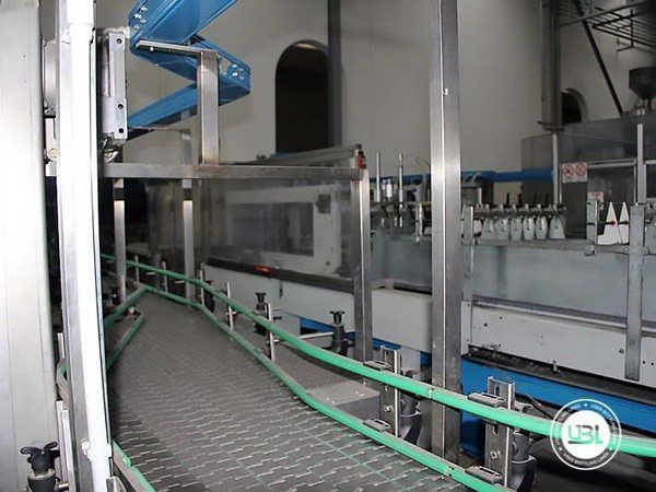 Used Isobaric Complete Glass Line for Sparkling Water, Water 7000 bph - 8